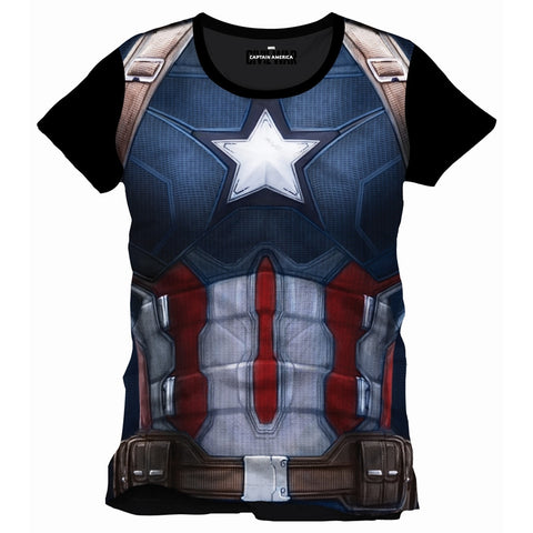 Captain America Cosplay Top