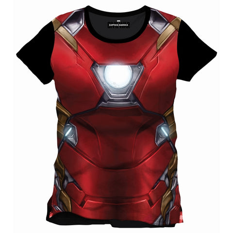 Iron Man Cosplay Top
