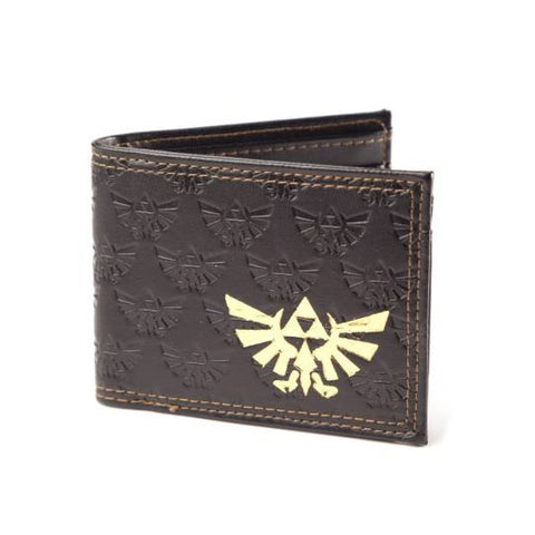 Zelda Triforce logo wallet
