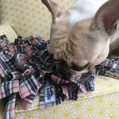 Dolly Approves of the new Ruffle Snuffle Harry snuffle mat