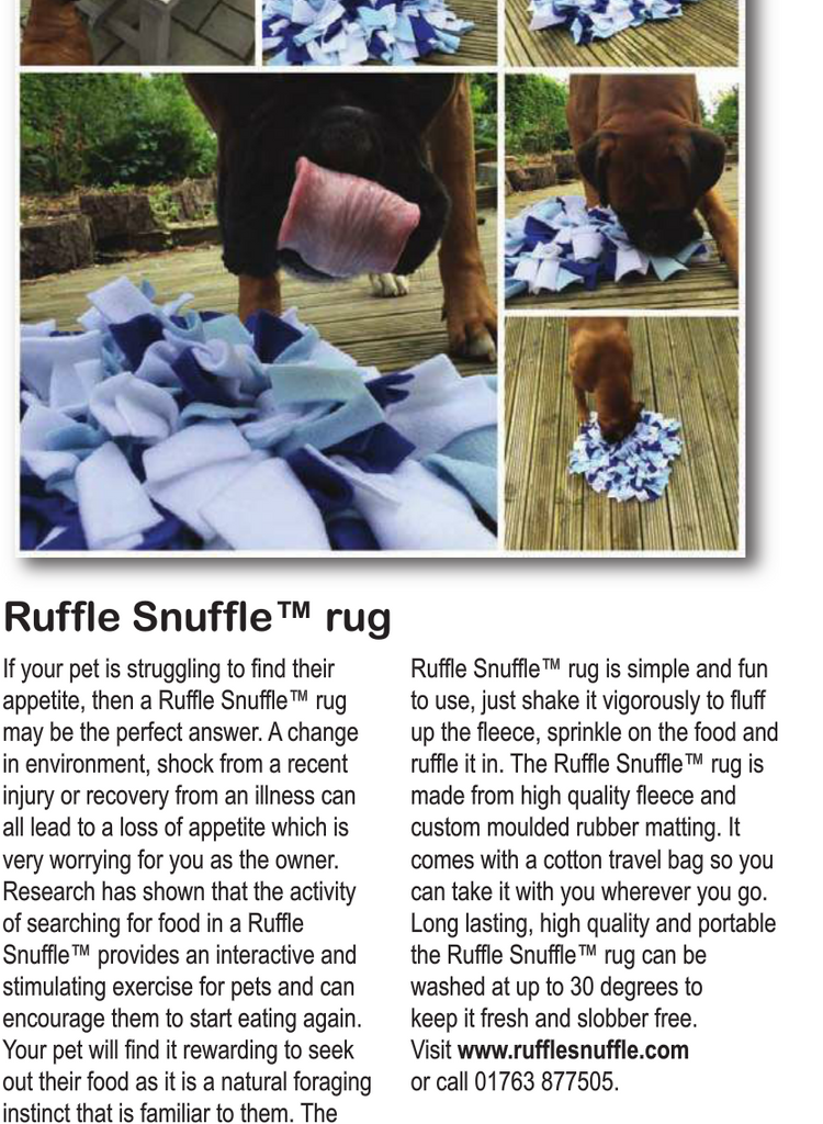As seen in Rescue & Animal Care Magazine