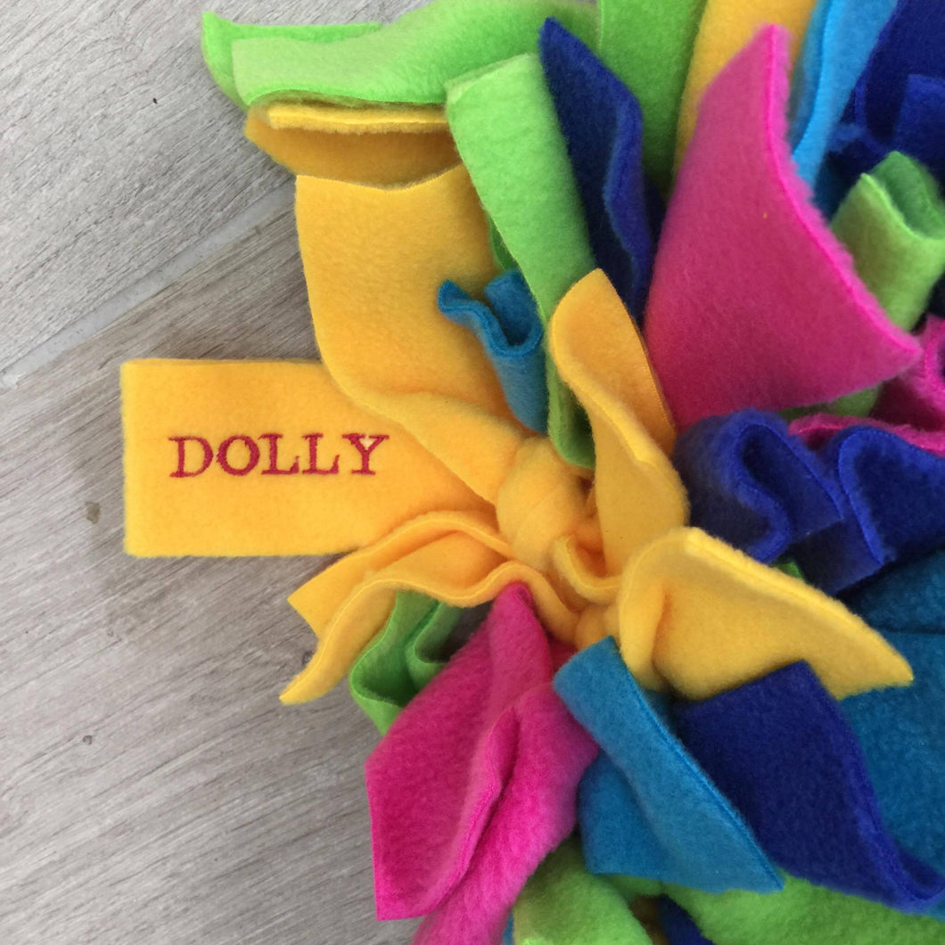 Personalisation for Ruffle Snuffle - snuffle mat by Ruffle Snuffle