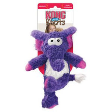 Load image into Gallery viewer, KONG Cross Knots Plush Squeaky Dog Chew Toy - Elephant