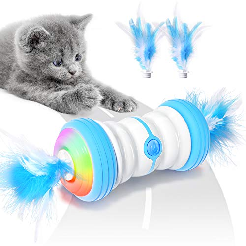 Irregular Moving Automatic Toy with Colourful LED Light USB