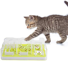 Load image into Gallery viewer, ALL FOR PAWS Interactive Puzzle Cat Feeder, Treat Maze Toy for Cats