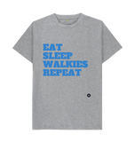 Eat, sleep, walkies, repeat Tee