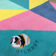 Load image into Gallery viewer, Guinea Pig - Personalised Fleece Blanket - snuffle mat by Ruffle Snuffle