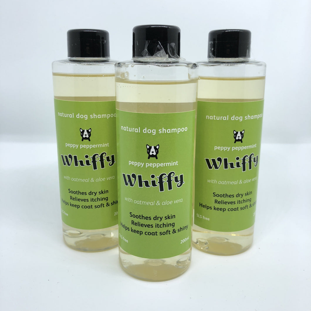 Whiffy Dog Natural Shampoo - Moisture & Conditioning - snuffle mat by Ruffle Snuffle