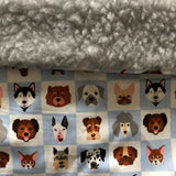 Snuggle Blankets - Spring - snuffle mat by Ruffle Snuffle
