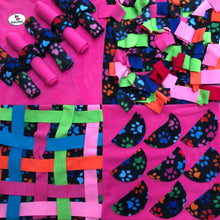 Load image into Gallery viewer, RebelPaws Nosework Activity Mat • 4 Panels - snuffle mat by Ruffle Snuffle