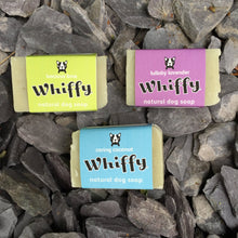 Load image into Gallery viewer, Whiffy natural dog soap - Calm & Soothing - snuffle mat by Ruffle Snuffle