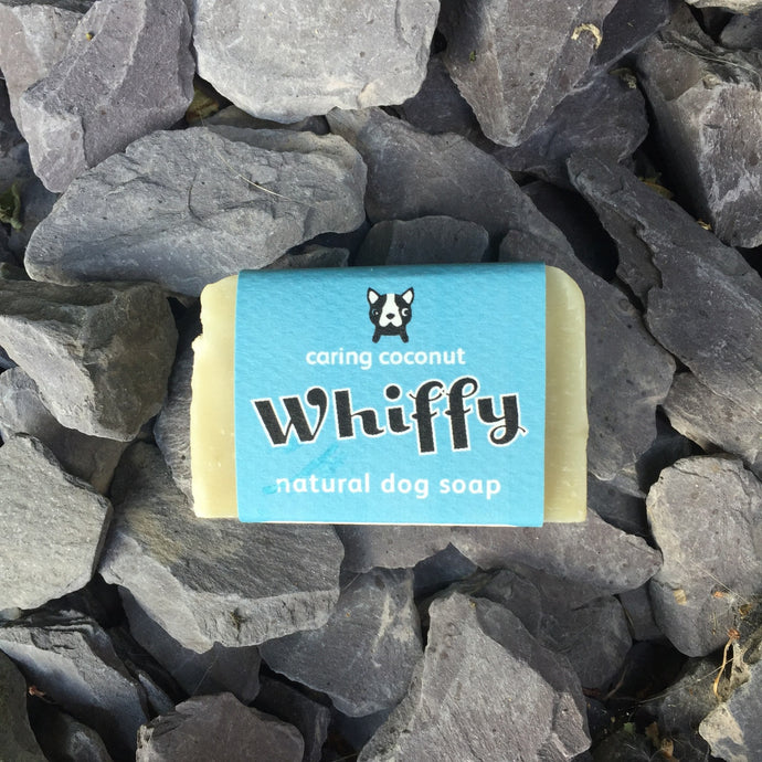 Whiffy natural dog soap - Condition & Shine - snuffle mat by Ruffle Snuffle