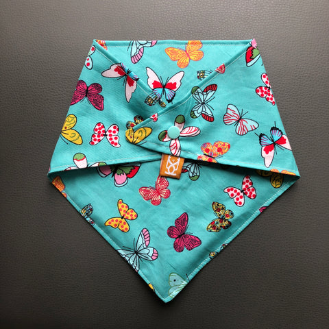 Dog Bandana - Bountiful Butterflies - snuffle mat by Ruffle Snuffle