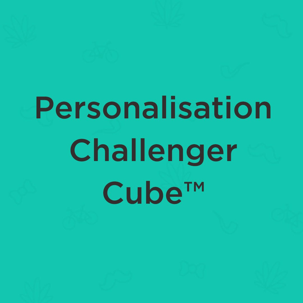 Personalisation for Challenger Cube™ - snuffle mat by Ruffle Snuffle