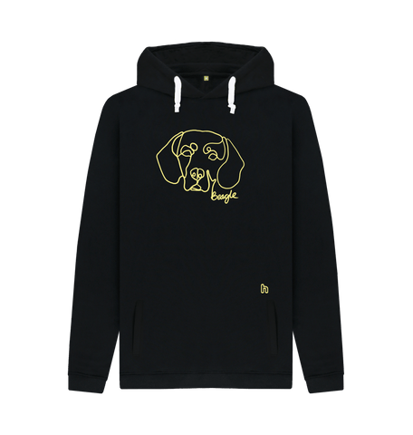 Beloved Beagle Unisex Hoodie - Black