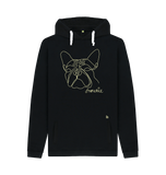 Fabulous Frenchie Unisex Hoodie - Black