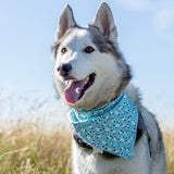 Dog Bandana - Sheep - snuffle mat by Ruffle Snuffle