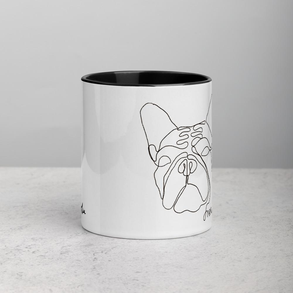 French Bulldog Illustration Mug