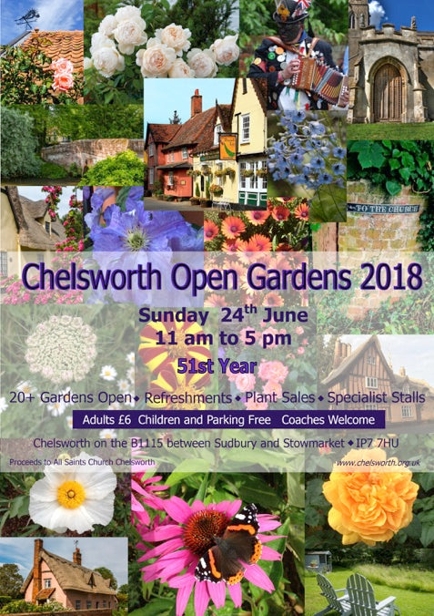 Come visit Chelsworth Open Gardens - We will be there!