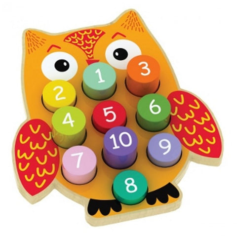 Owl Blocks with numbers Game