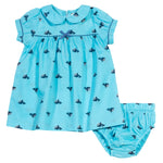 Wonder Whale Dress Set