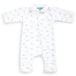 Magnet Mouse - Blue Mouse Sleepsuit