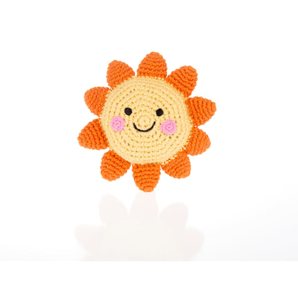 Friendly Sun  Baby Rattle
