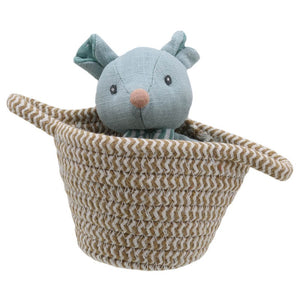 Wilberry Pets in Baskets - Mouse