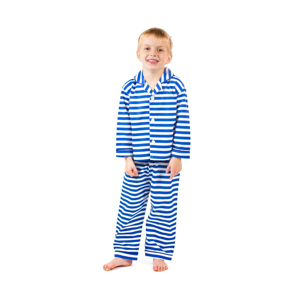 """Edward""  Butcher Stripe Pyjamas"