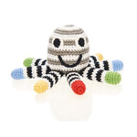 Octopus Rattle - Black and White