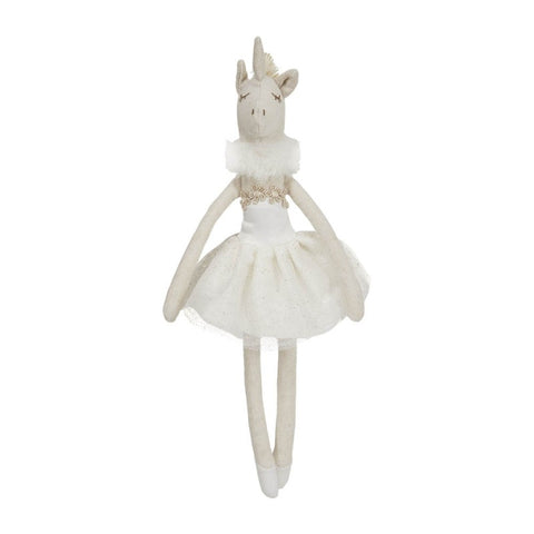 Ballerina Dancer - White Unicorn