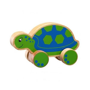 Wooden Turtle Push along