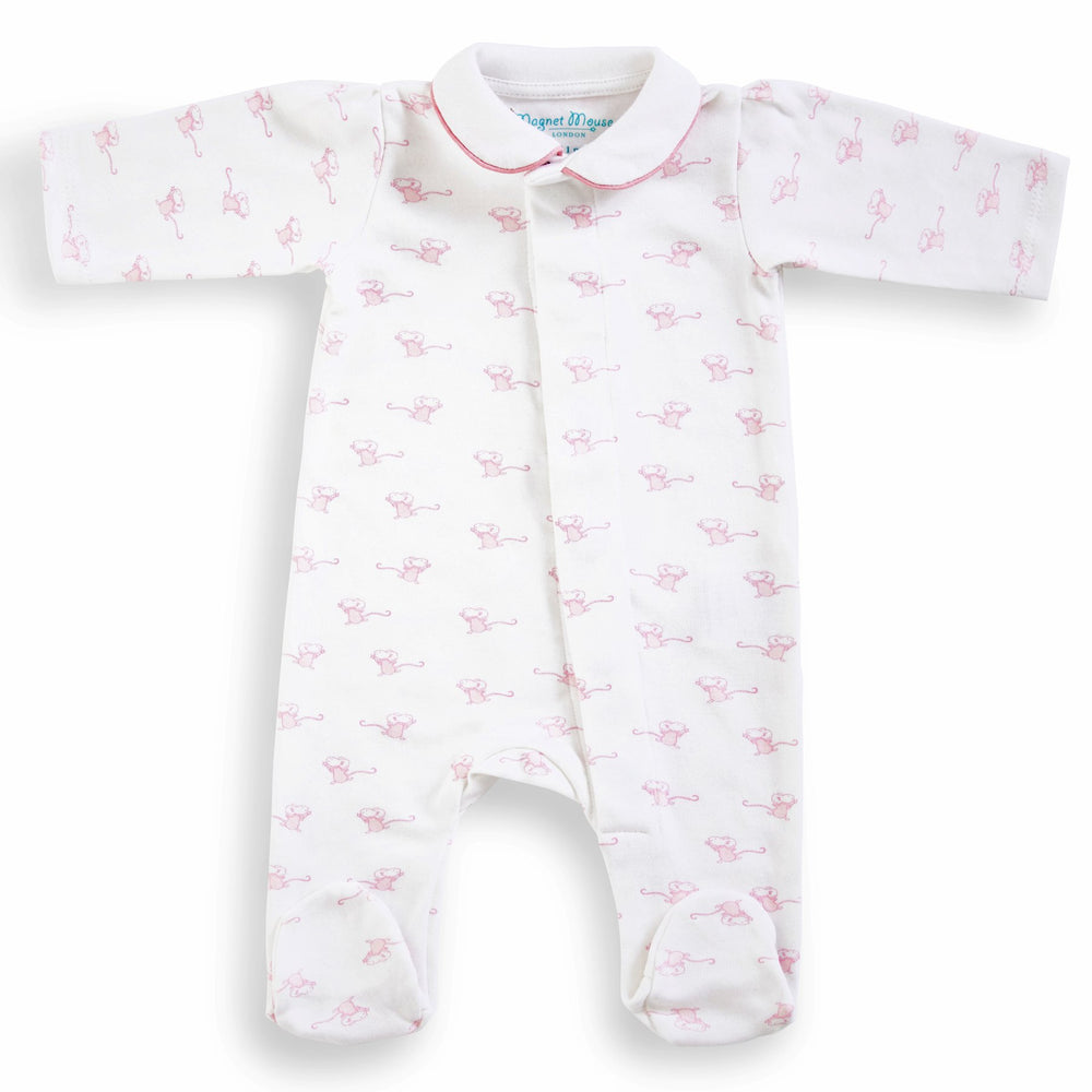 Magnet Mouse - Pink Mouse Sleepsuit