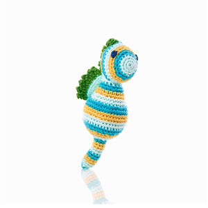 Pebble Sea Horse Rattle
