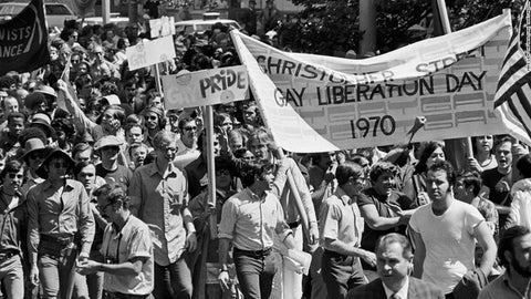 First gay queer pride parade 1970