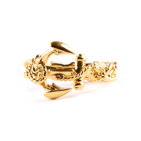 Gold Seafaring Ring