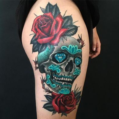 tattoo ideas sugar skulls day of the dead skull dia de los muertos mexico