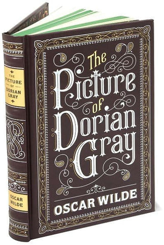 The Picture of Dorian Gray by Oscar Wilde Barnes and Noble leatherbound classics