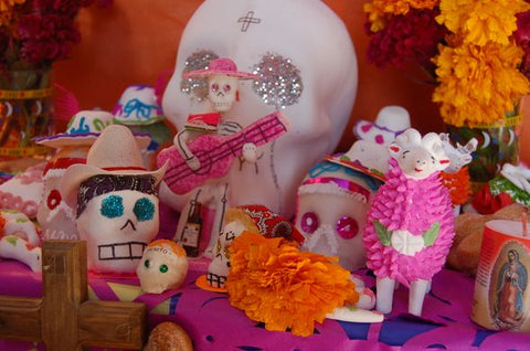 alfrenda altar day of the dead dia de los muertos