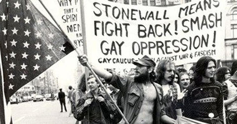 first gay pride parades marches march parade month stonewall riots