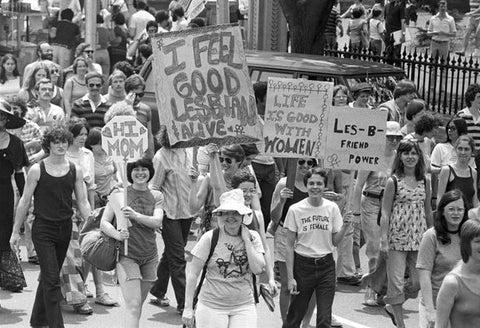 first queer gay pride march parade