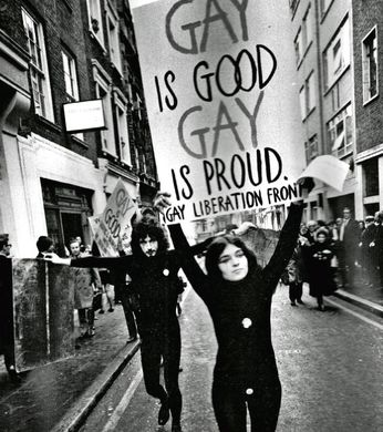first gay pride march london gay is good gay is proud