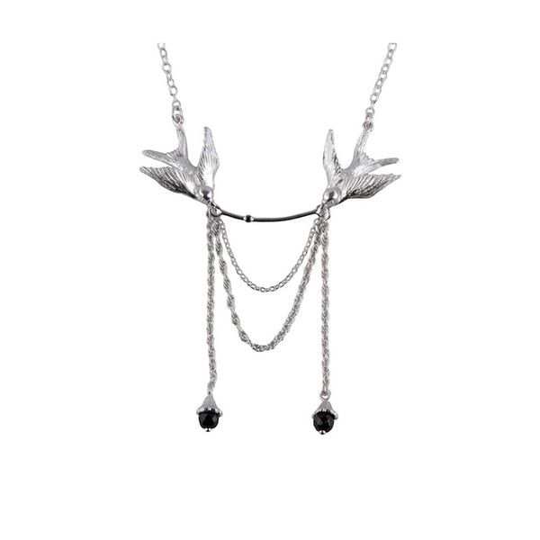 Swallow Statement Necklace - Roz Buehrlen - 2