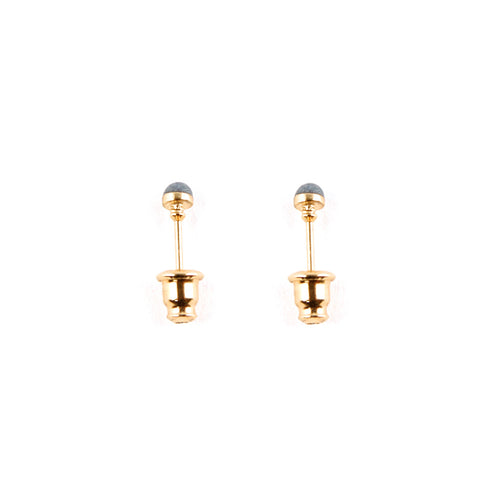 Mini Gold Enamel Ear Pips