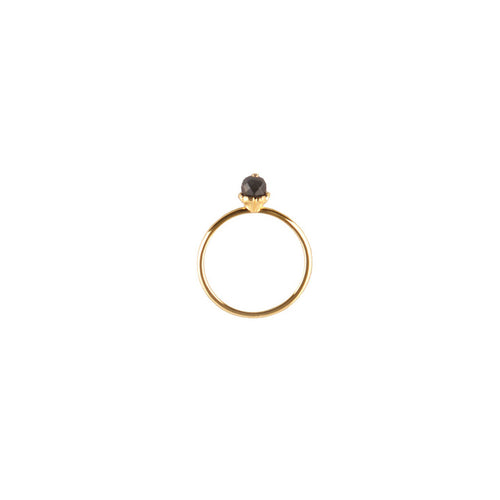 Gold Flower Stack Ring - Roz Buehrlen - 1