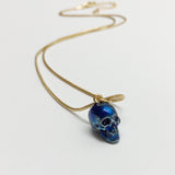 Metalic Blue Pendant.