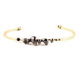Roz Buehrlen Chattering Skull bangle