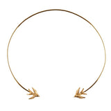 Gold Torc Necklace - Roz Buehrlen - 1
