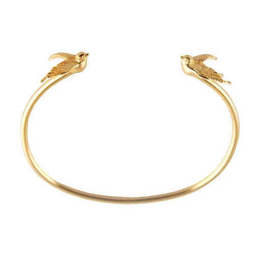 Gold Torc Bangle - Roz Buehrlen - 1