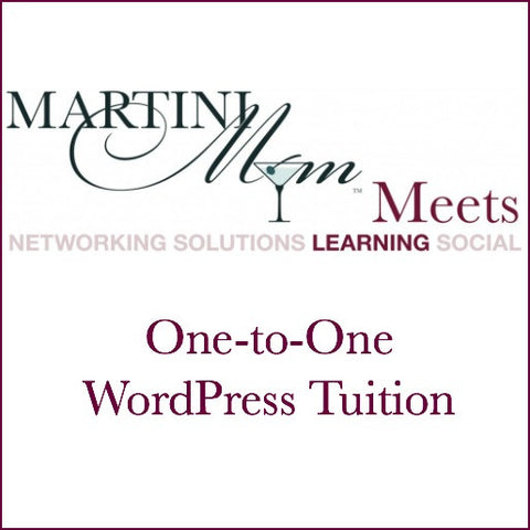 One-To-One WordPress Tuition £25 p.h.